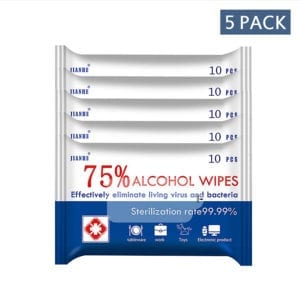 alcohol Wipes 5 pack