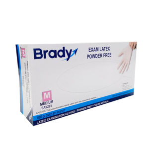 brady latex disposable glove wholesale los angeles