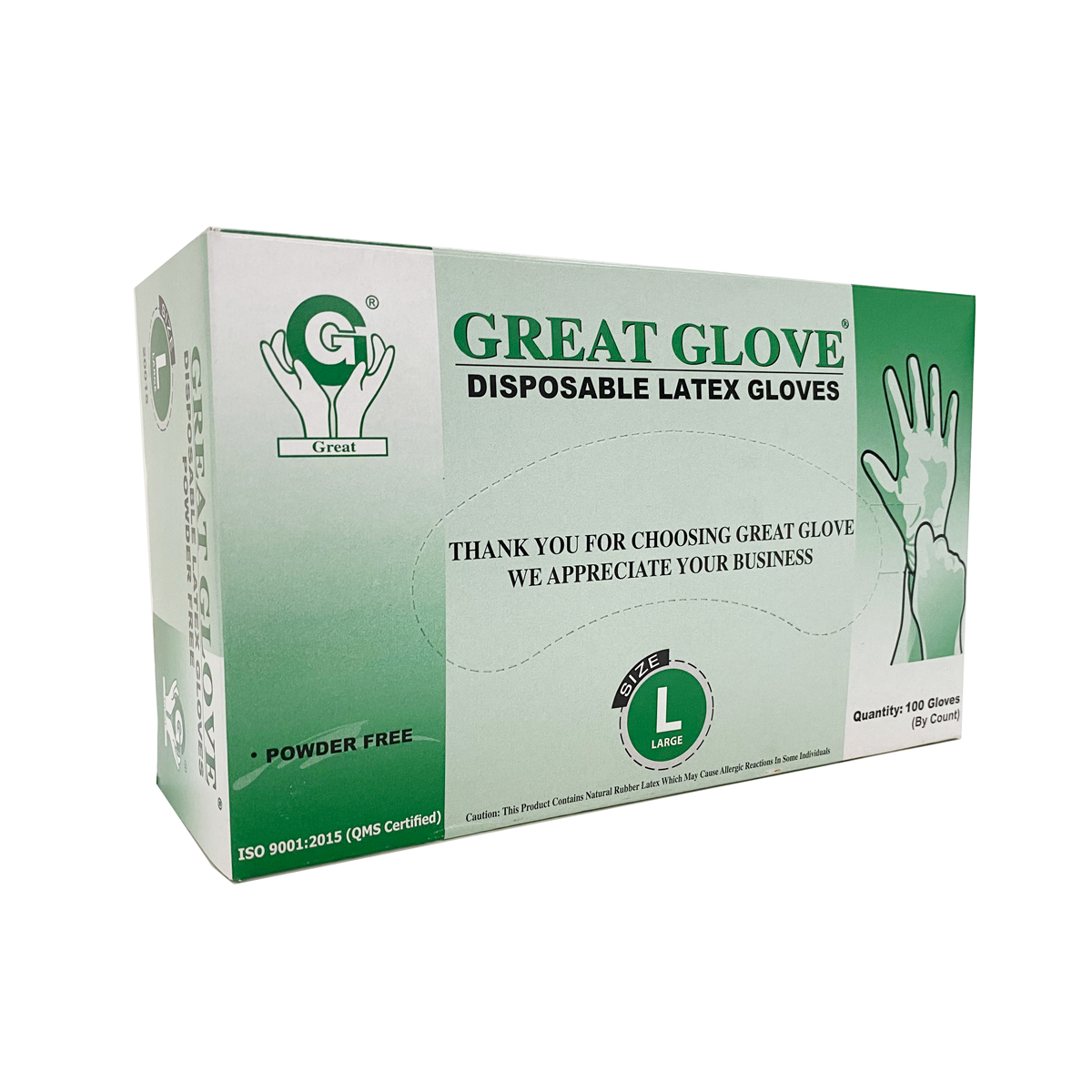 L Nitrile Gloves Latex Vinyl Powder Free Sizes: XS M S XL