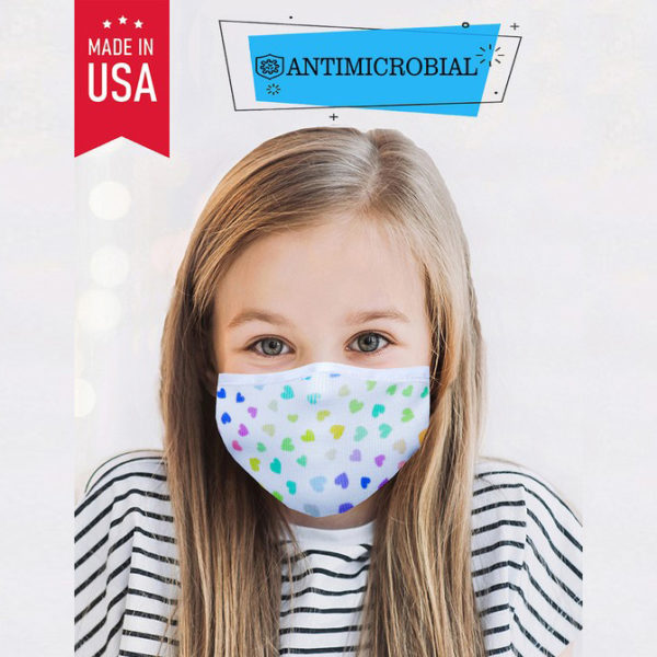 kids antimicrobial face mask