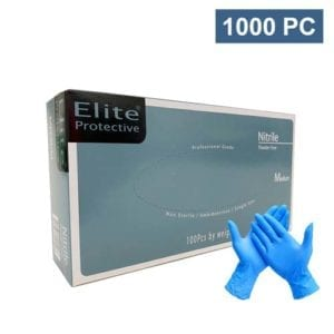 gloves nitrile blue Elite