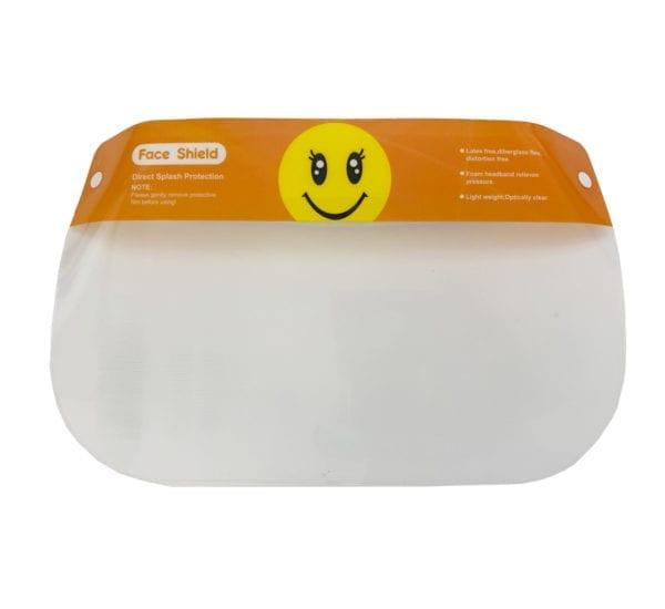 Kids Face Shield Smile Print