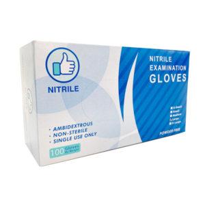 blue nitrile glove wholesale quality