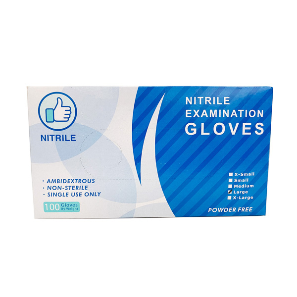 blue nitrile glove wholesale quality
