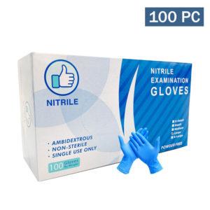 blue nitrile gloves wholesale quality