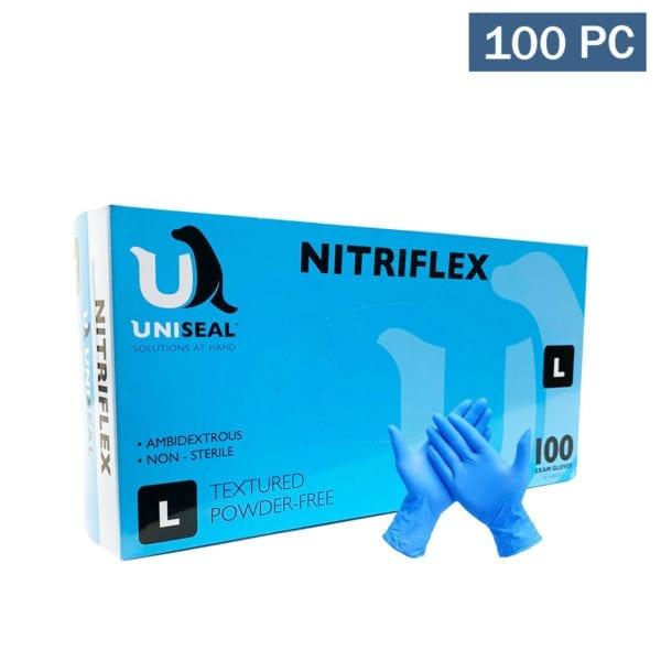 Nitrflex Examination Gloves - Blue