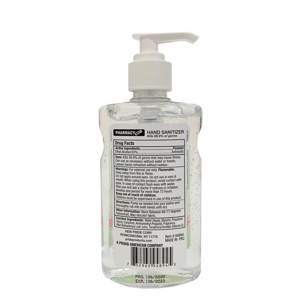 hand sanitizer 8oz wholesale 236ml