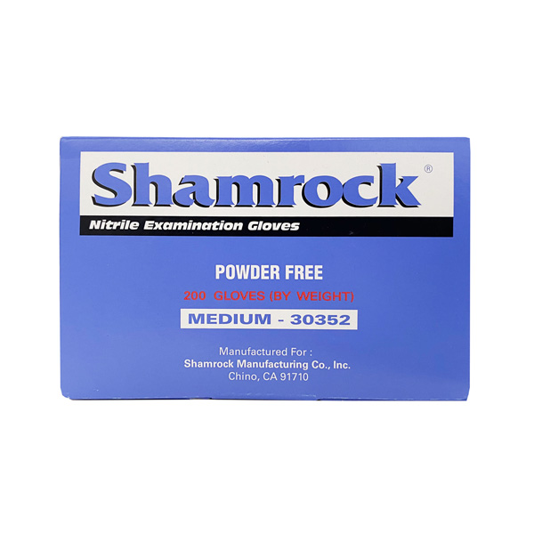 shamrock medical nitrile blue gloves wholesale los angeles