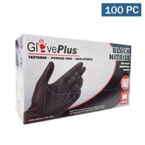 gloveplus black nitrile gloves wholesale cheap los angeles