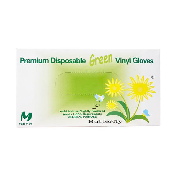green vinyl premium disposable glove wholesale los angeles