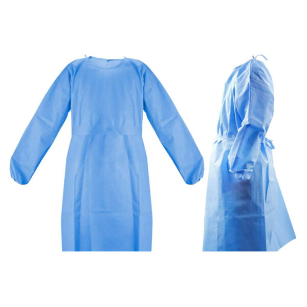 medical isolation disposable gown level 2