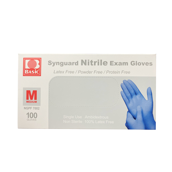 Intco nitrile synguard exam glove blue wholesale los angeles
