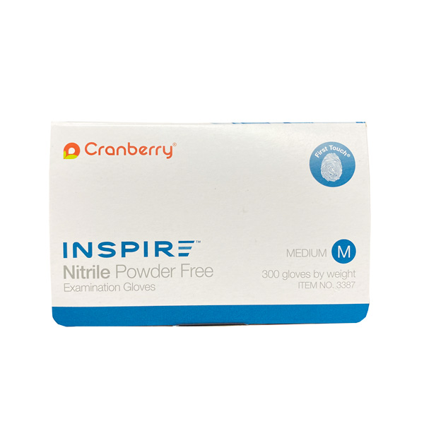 Cranberry Inspire Nitrile Exam Gloves Wholesale Los Angeles