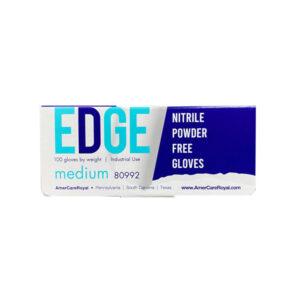 Edge Nitrile Industrial Gloves, Black Wholesale Los Angeles