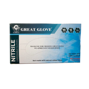 Great Glove Nitrile Gloves 5-mil, Blue - 100 Pieces Wholesale Los Angeles