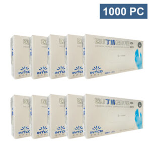 intco medical examination nitrile blue disposable glove wholesale los angeles