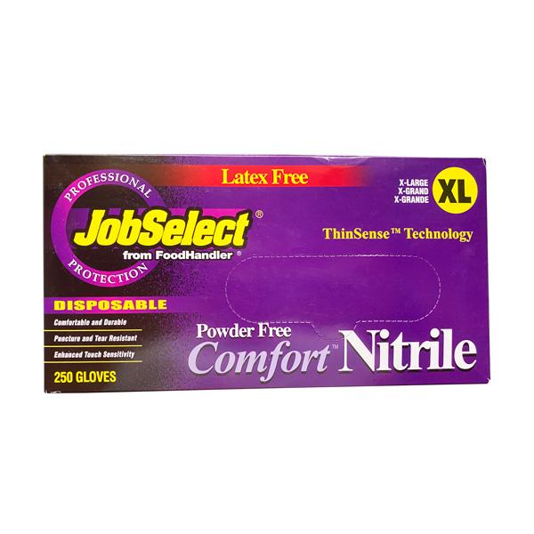 JobSelect Comfort Nitrile Gloves, Blue 250 Piece Wholesale Los Angeles