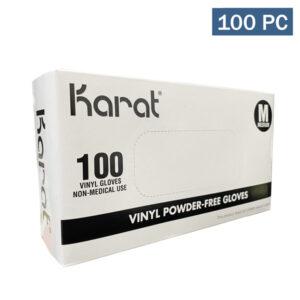 Karat Vinyl Powder-Free Disposable Glove Los Angeles Wholesaler Cheap
