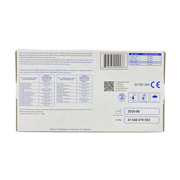 Skintx Nitrile Exam Gloves, Blue, Wholesale Los Angeles