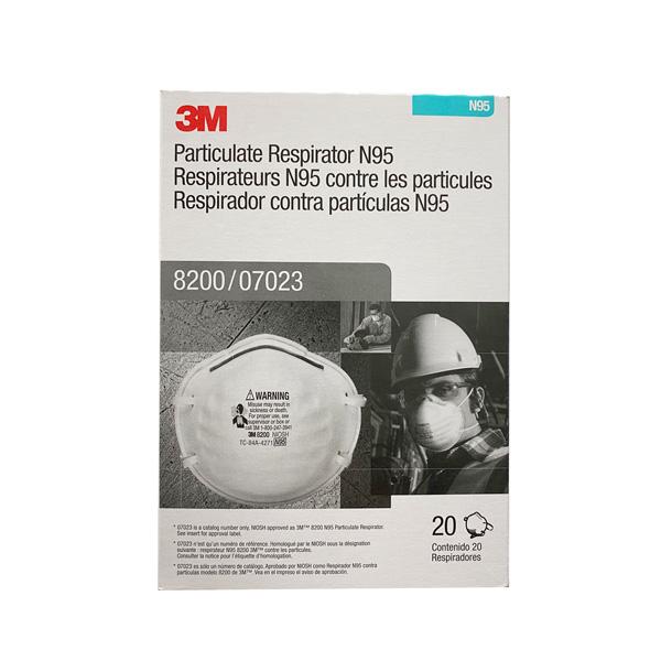 3M N95 8200 Face Mask Wholesale Los Angeles