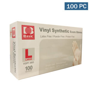 Intco Basic Vinyl Synthetic Examination Grade Gloves 100 Pieces