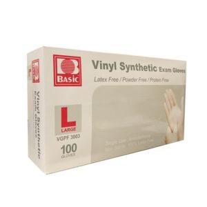 Intco Basic Vinyl Synthetic Examination Grade Gloves 100 Pieces
