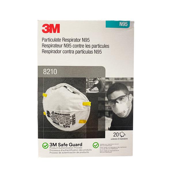 3M 8210 N95 MEDICAL SURGICAL MASK