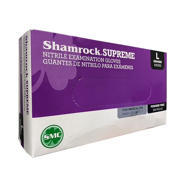 Shamrock Nitrile Examination Glove, Blue Wholesale Los Angeles