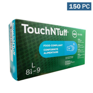 TouchNTuff Nitrile Gloves 5-mil, Blue Wholesale Los Angeles