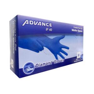 Advance Nitrile Gloves, Blue Industrial Wholesale Los Angeles