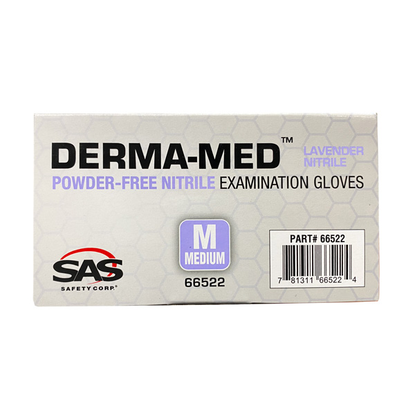 SAS Derma-Med Nitrile Examination Gloves Wholesale Los Angeles