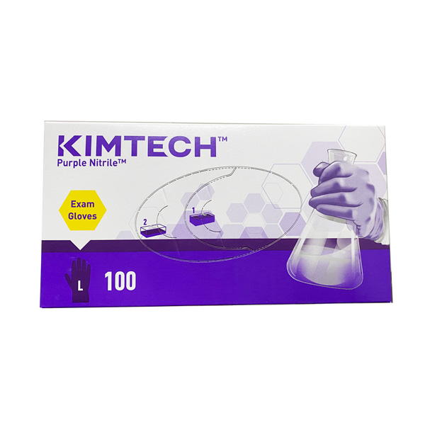 Kimberly Clark Kimtech Purple Exam Nitrile Gloves Wholesale Los Angeles