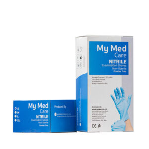 My MedCare Nitrile Examination Glove, Blue Wholesale Los Angeles