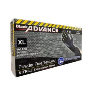 Advance Black Nitrile Exam Gloves Wholesale Los Angeles