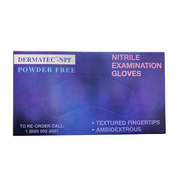 Dermatec NPF Nitrile Exam Gloves Wholesale Los Angeles