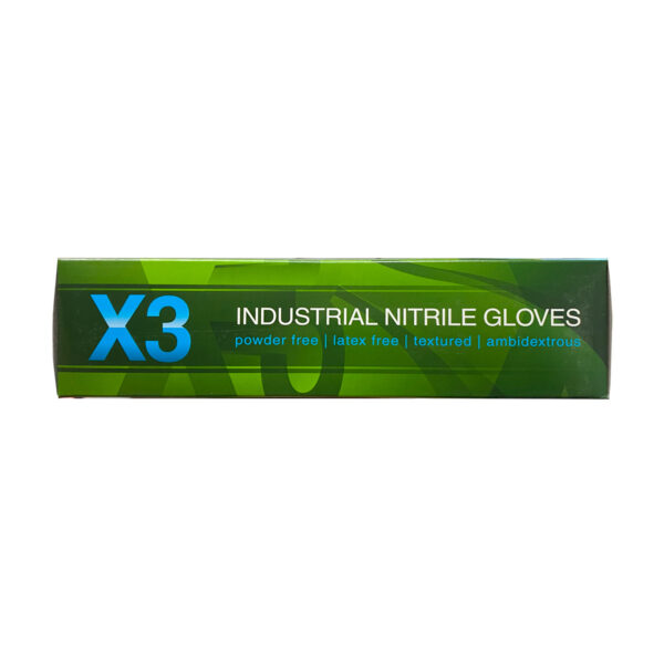 Ammex X3 Nitrile Blue Gloves Wholesale Los Angeles Cheap