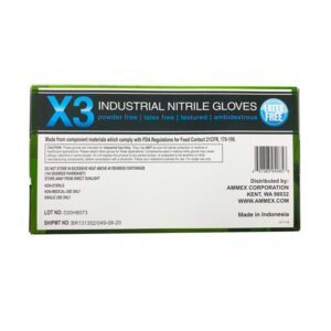 Ammex X3 Nitrile Industrial Gloves Wholesale Los Angeles