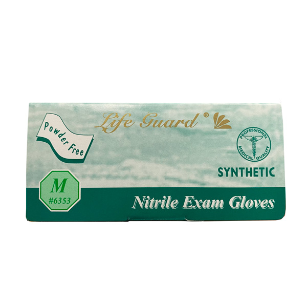 Life Guard Nitrile Exam Gloves Blue Wholesale Los Angeles