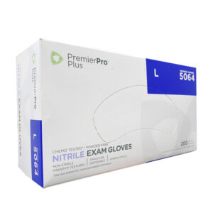 Medline PremierPro Plus Nitrile Exam Chemo Gloves, Blue Wholesale Los Angeles