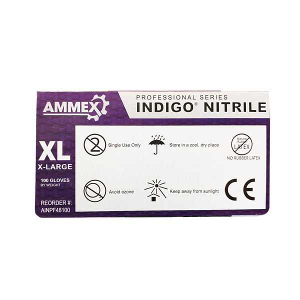 Ammex Professional Series Nitrile Exam Blue Wholesale Los Angeles