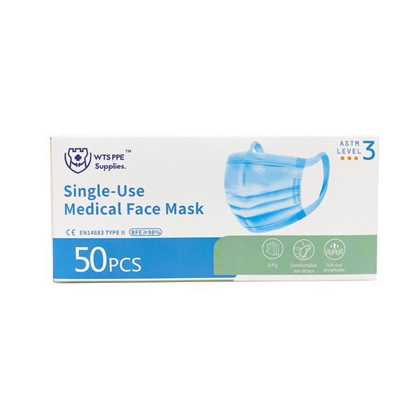 WTS Level-3 3PLY Disposable Face Mask Wholesale Los Angeles
