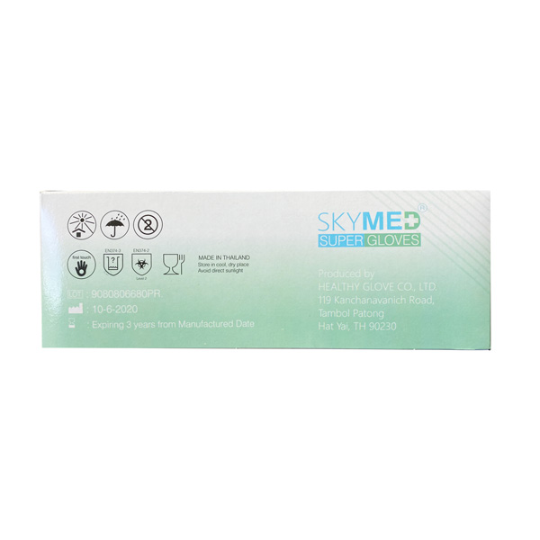 SkyMed Latex Exam Gloves Medical Wholesale Los Angeles