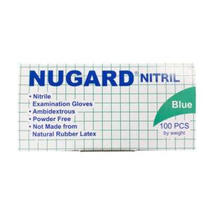 Nugard Nitrile Exam Blue Gloves Wholesale Los Angeles