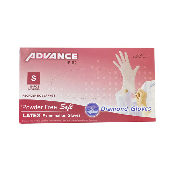 Advance Latex Examination Disposable Gloves Los Angeles Cheap Riverside