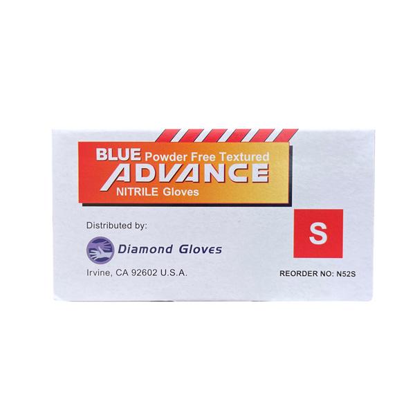 blue nitrile 5mil disposable powder free gloves los angeles riverside moreno valley wholesaler